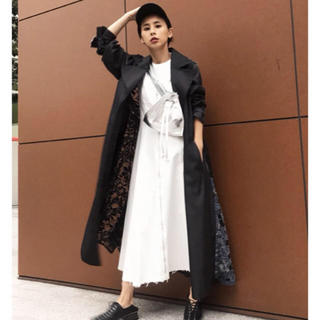 Ameri VINTAGE -  BACK LACE COAT  アメリヴィンテージ
