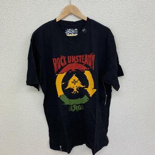 エルアールジー(LRG)の値下げ!【新品未使用】LRG Tシャツ ブラック XLサイズ①(Tシャツ/カットソー(半袖/袖なし))