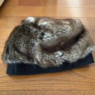 アングリッド(Ungrid)のファー帽子 ungrid 新品♡︎ʾʾ(ハンチング/ベレー帽)