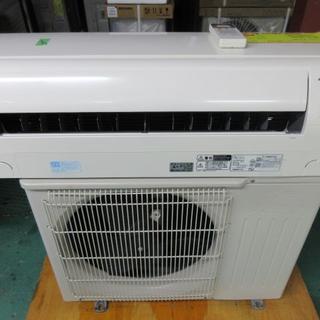 ミツビシ(三菱)のK761 三菱 中古エアコン 主に10畳用 冷2.8kw/暖3.6kw(エアコン)