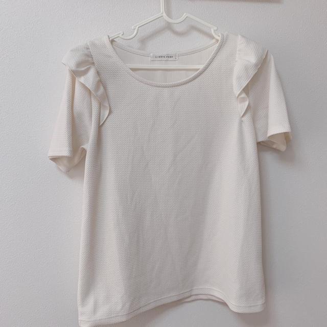 LOWRYS FARM(ローリーズファーム)のTシャツ カットソー トップス レディースのトップス(Tシャツ(半袖/袖なし))の商品写真