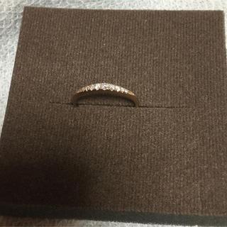 ジュエリーツツミ(JEWELRY TSUTSUMI)のK18PGダイヤモンドリング(リング(指輪))