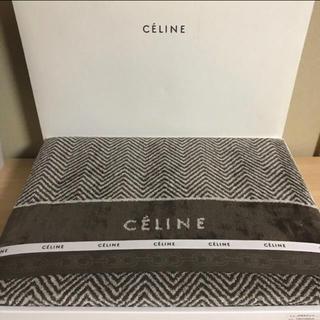 celine - ★ セリーヌ タオルケット ダークブラウン