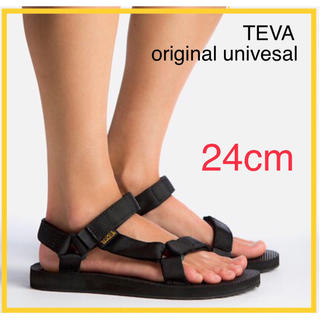 Teva - 【24.0cm】新品Teva original サンダル レディース ブラック