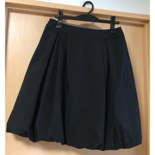 トゥービーシック(TO BE CHIC)のTO BE CHIC★バルーンスカート★サイズ42(ひざ丈スカート)