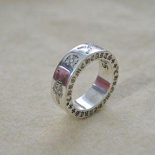 クロムハーツ(Chrome Hearts)のK127 クロムハーツスペーサー ダガーリング(リング(指輪))