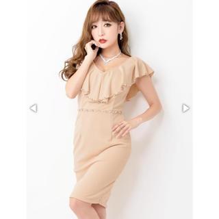 デイジーストア(dazzy store)のビジュー付き ドレス(ミディアムドレス)
