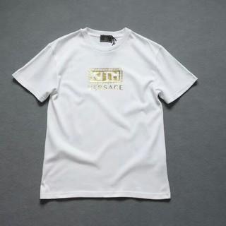 ヴェルサーチ(VERSACE)の激レア Kith Versace コラボ ホワイト Tシャツ ボックス(Tシャツ/カットソー(半袖/袖なし))