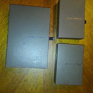 LOUIS VUITTON - 新品同様 ルイヴィトン から箱など 4点まとめ