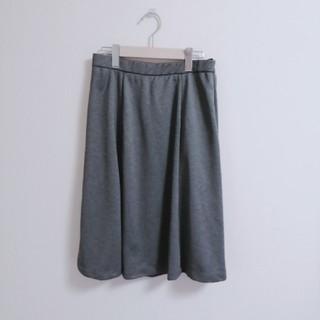 しまむら - 新品未使用 グレーフレアスカート