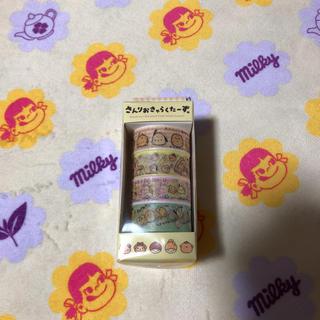 サンリオ(サンリオ)のレトロ さんりおきゃらくたーず 4連 マステ。(テープ/マスキングテープ)