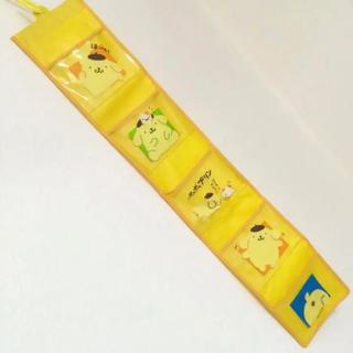 サンリオ(サンリオ)のポムポムプリン ウォールポケット 壁掛け収納 小物いれ 壁飾り サンリオ 当時物(小物入れ)