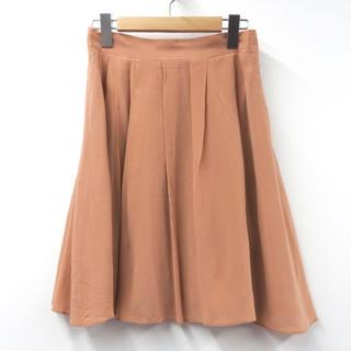 イネド(INED)の美品 ✴︎ イネド ベージュ スカート (ひざ丈スカート)