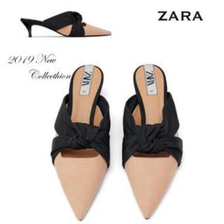 ザラ(ZARA)のZARA完売品(サンダル)
