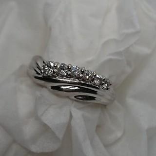 pt900 ダイヤモンドリング 0.3ct(リング(指輪))