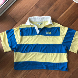 ウィゴー(WEGO)のWEGO ラガーシャツ(ポロシャツ)