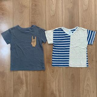 マーキーズ(MARKEY'S)のマーキーズ Tシャツ 2枚組 100(Tシャツ/カットソー)
