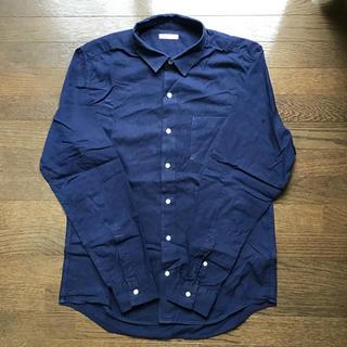 GU - GUネイビーシャツ