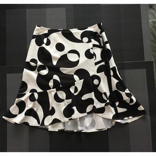 ピンキーアンドダイアン(Pinky&Dianne)のヒップボーンスカート ウエスト61センチ(ひざ丈スカート)