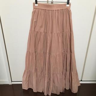 INGNI - ティアードスカート フリーサイズ