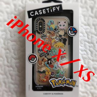 ポケモン(ポケモン)の完売商品 最安値 casetify ポケモン iPhone X/XS(iPhoneケース)