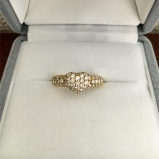 ポンテヴェキオ(PonteVecchio)のポンテヴェキオ パヴェ ダイヤモンド リング K18YG 0.65ct 4.3g(リング(指輪))