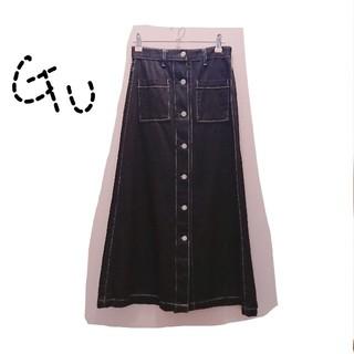 GU - GU * デニムロングスカート