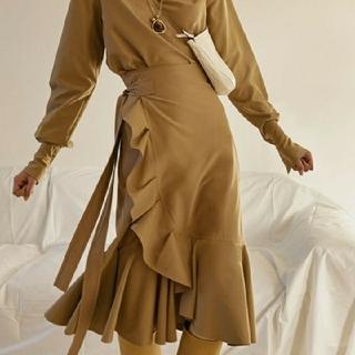 celine - セリーヌ ラップスカート 巻きスカート