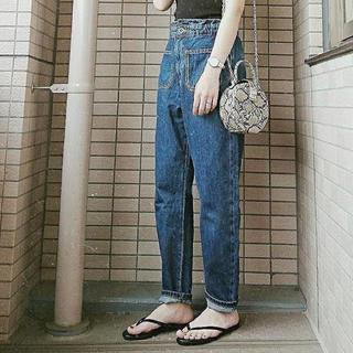 ZARA - 完売*ZARAポケット付きバギーデニム