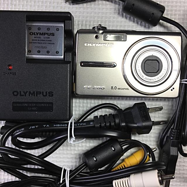 OLYMPUS(オリンパス)のORYMPUS FE-280 8megapixel スマホ/家電/カメラのカメラ(コンパクトデジタルカメラ)の商品写真