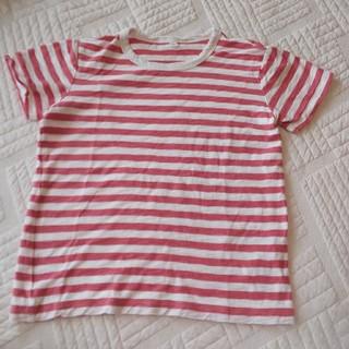MUJI (無印良品) - 無印良品 ボーダー Tシャツ 130