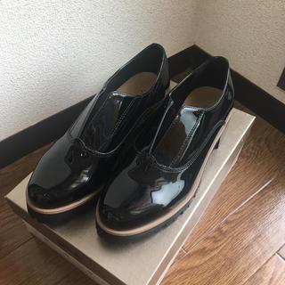 ミスティック(mystic)のミスティック エナメル 厚底スリッポン(ローファー/革靴)