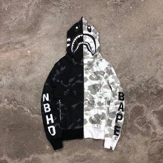 BAPE x NEIGHBORHOOD Shark Hooded 新品未使用