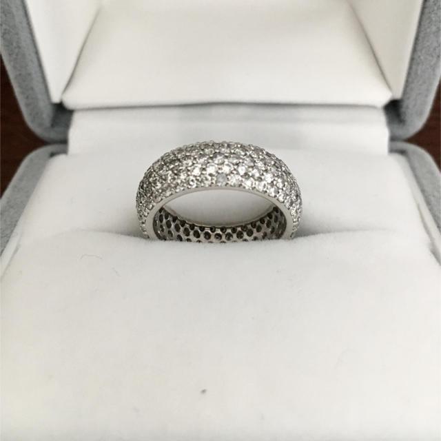 PonteVecchio(ポンテヴェキオ)のポンテヴェキオ ダイヤモンド フルパヴェ リング K18WG 2.13ct レディースのアクセサリー(リング(指輪))の商品写真