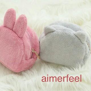 エメフィール(aimer feel)の新品♡aimerfeelうさぎのポーチ(ポーチ)