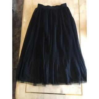 dholic - 美品♡ ドットチュールスカート