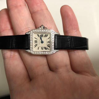 カルティエ(Cartier)のカルティエ ミニサントス  ドゥモワゼル 1(腕時計)
