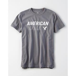 アメリカンイーグル(American Eagle)の送料無料【アメリカンイーグル】Tシャツ トップス XXLサイズ グレー(Tシャツ/カットソー(半袖/袖なし))