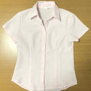 シマムラ(しまむら)のレディース 半袖シャツ ピンク《しまむら》(シャツ/ブラウス(半袖/袖なし))