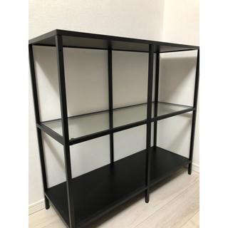 IKEA - 引き取り限定 IKEA イケア ヴィットショー ガラス ラック シェルフ
