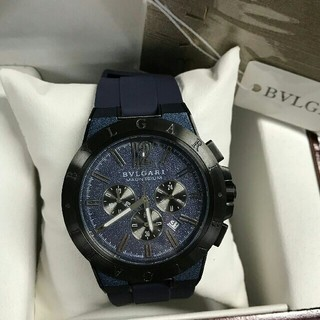 BVLGARI - ブルガリ BVLGARI ディアゴノ ウルトラネロ メンズ 腕時計