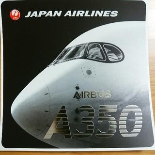 ジャル(ニホンコウクウ)(JAL(日本航空))の【非売品】JAL A350ステッカー(航空機)