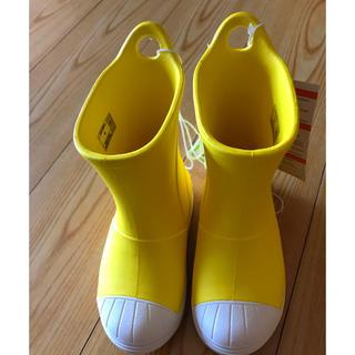 クロックス(crocs)のcrocs♥子ども♥長靴♥新品未使用♥15.5cm♥(長靴/レインシューズ)