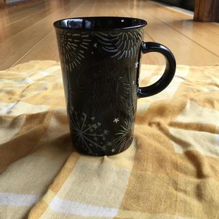 スターバックスコーヒー(Starbucks Coffee)の【新品 未使用】新作 スタバ  マグHANABI  花火 マグカップ296ml★(マグカップ)