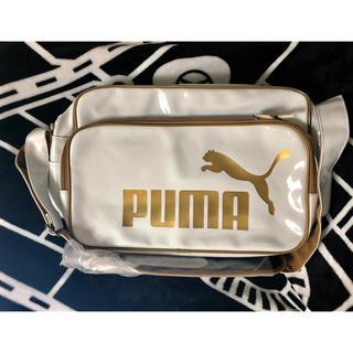PUMA - プーマ エナメルバッグ