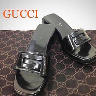 グッチ(Gucci)の鑑定済み 正規品  GUCCI グッチサンダル 送料込み(サンダル)