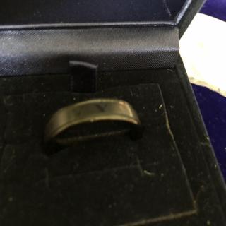 ブラックリング ギリシャ文字 22号(リング(指輪))