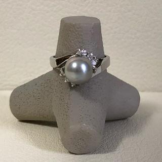 1039 シルバーリング 石付き 925(リング(指輪))