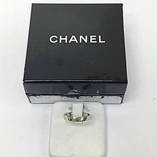 シャネル(CHANEL)の鑑定済み 正規品 CHANEL シャネル ウェディング プラチナリング 送料込み(リング(指輪))