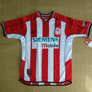 UMBRO - オリンピアコス 2002-2003ホームユニフォーム umbro アンブロ